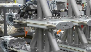 Four-Way Wye Line Diverters to Handle Protein Pulver