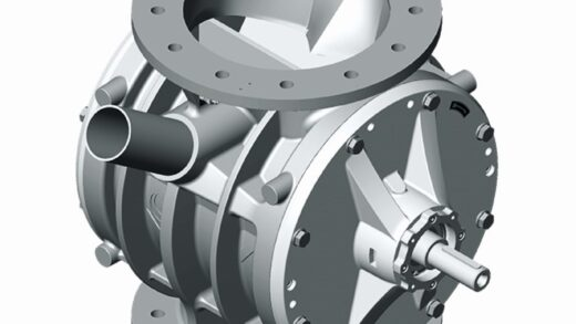 Coperion ZVB Rotary Discharging Valve for Pellets and Coarse-Grained Products Applications