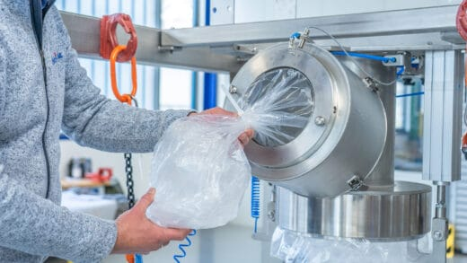New Containment System For Big Bag Filling