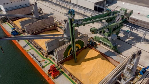 Bruks Siwertell Commissions New Grain Handling Ship Unloader in Mexico