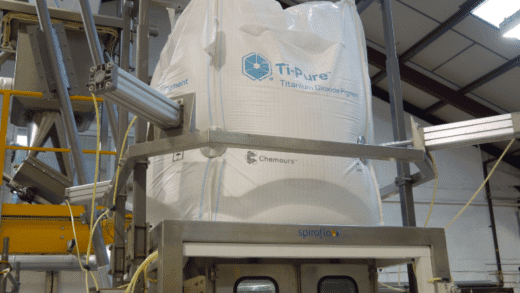 Spiroflow Promotes Safe Handling and Containment Solutions in Advance of Titanium Dioxide Regulations