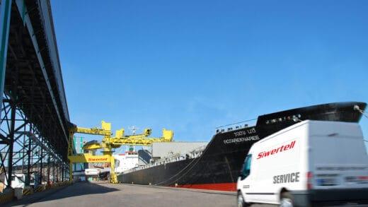 Bruks Siwertell Service Keeps Mailiao Ship Unloader In Peak Condition