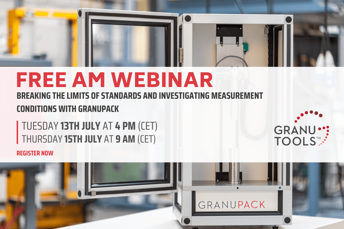 Breaking the limits of standards and investigating measurement conditions with GranuPack
