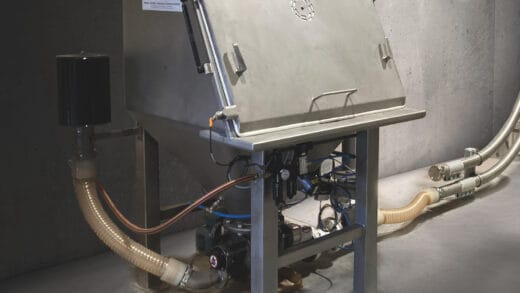 Vacuum Conveying Of Sticky Product