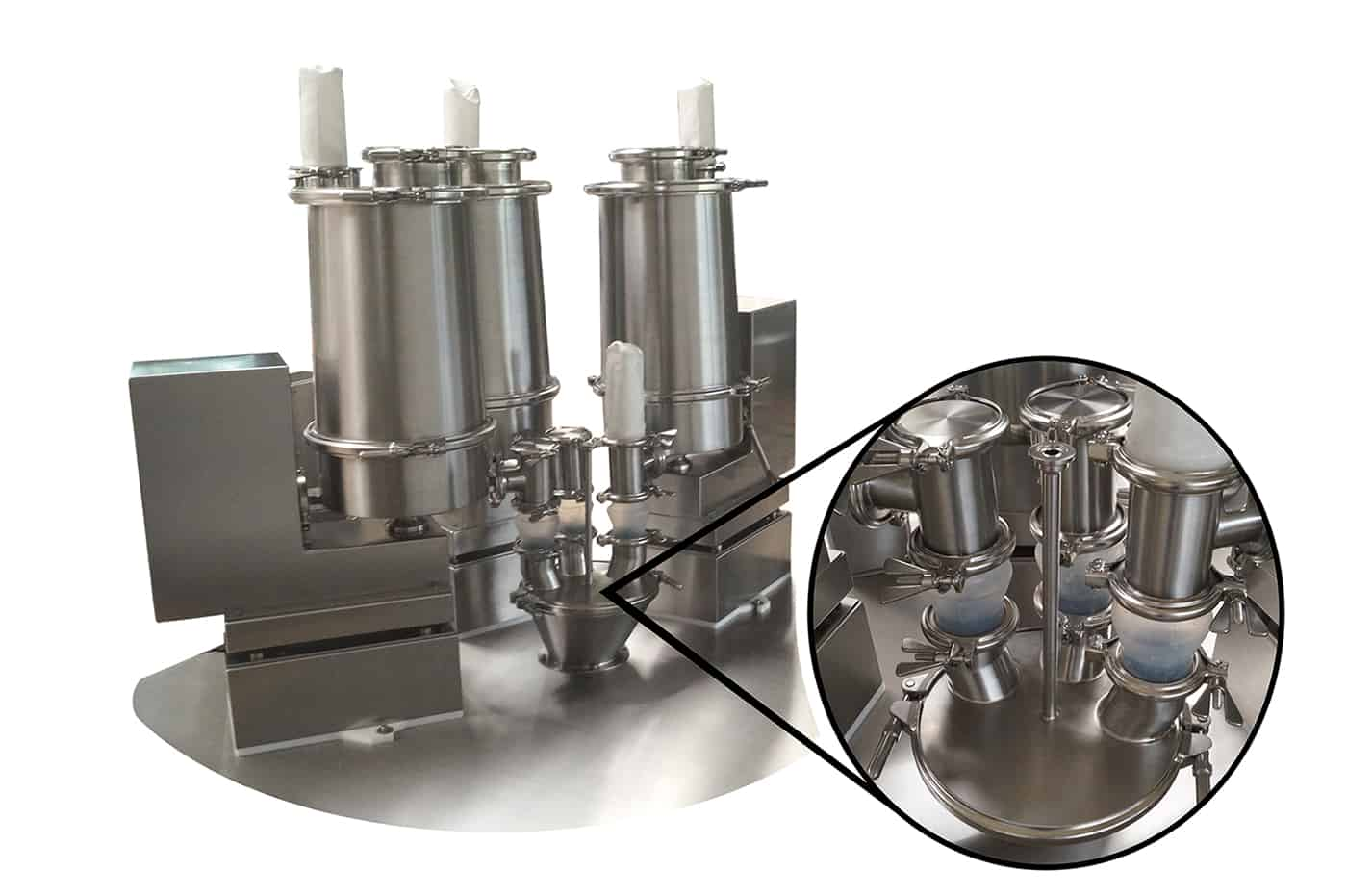 Pharmaceutical Solid Dosage Production with Highest Flexibility and Accuracy