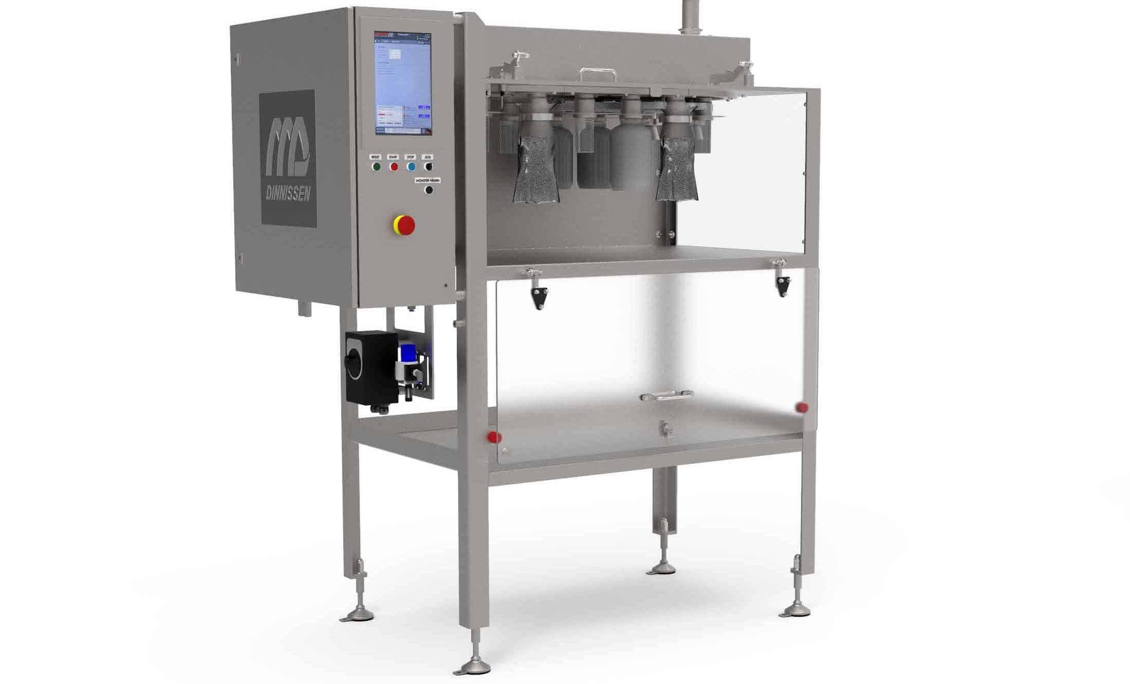 Dinnissen Process Technology Introduces New Series of Smart Sampling Systems
