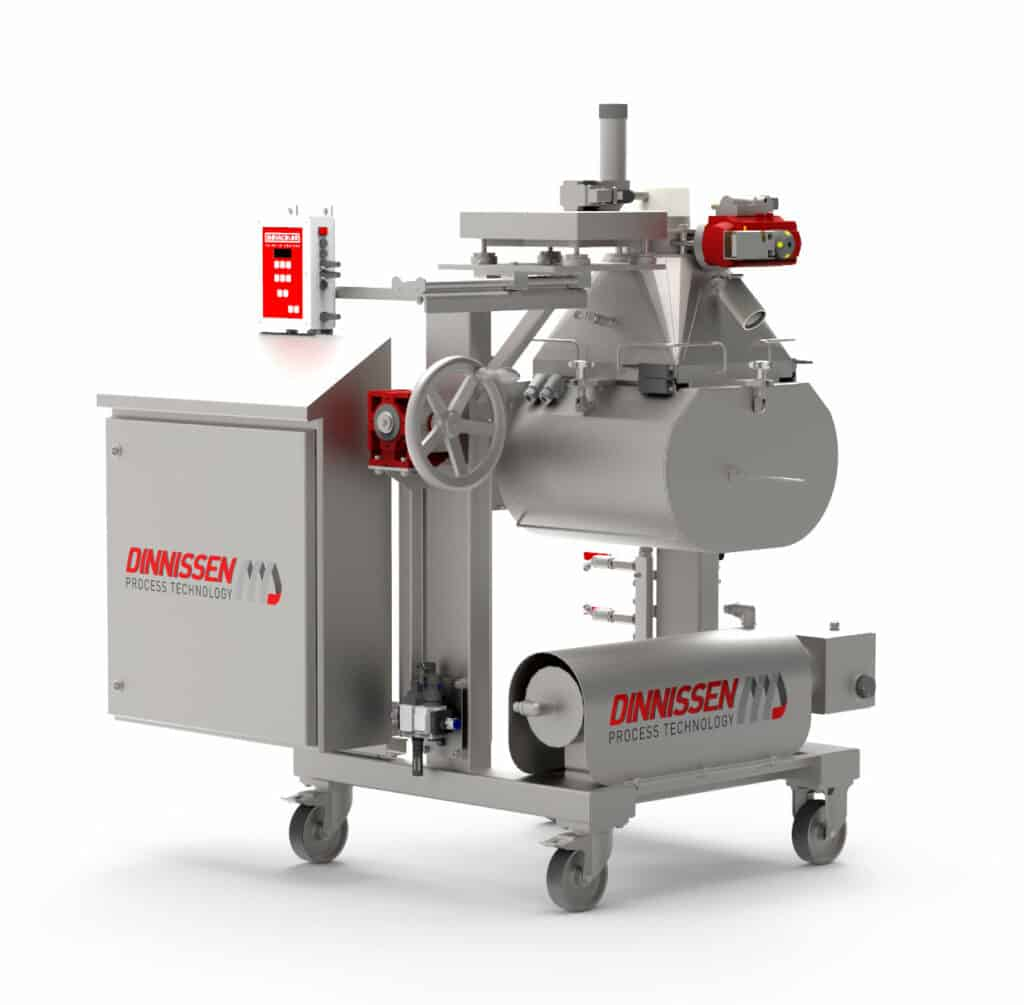 Dinnissen Process Technology introduces new mixing innovation: The Pegasus® R&D Mixer