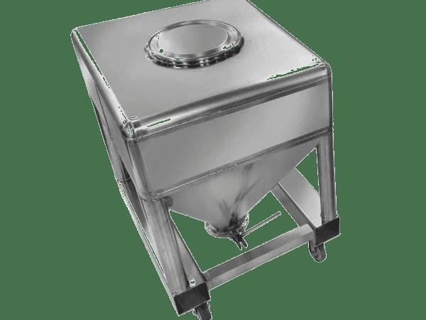 Intermediate bulk container (IBC) handling equipment - BulkInside
