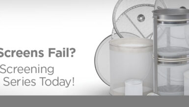 Optimize Sifting & Screening with Kason K-SERIES Spare Screens