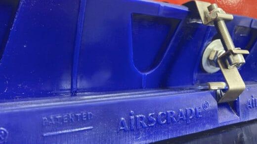 "Contactless Conveyor Skirting for Codelco, the ""AirScrape"""