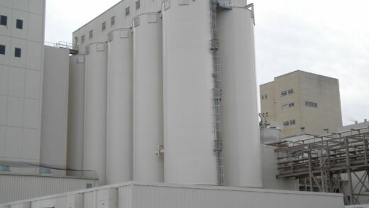 3D Mapping & Visualization of Challenging Material in Food Silos