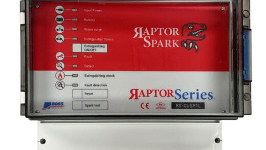 The Raptor Spark Detection and Extinguishing System