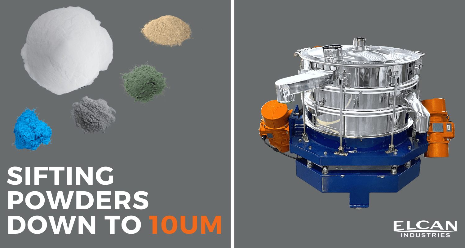 Toll Sifting Powders Down to 10um