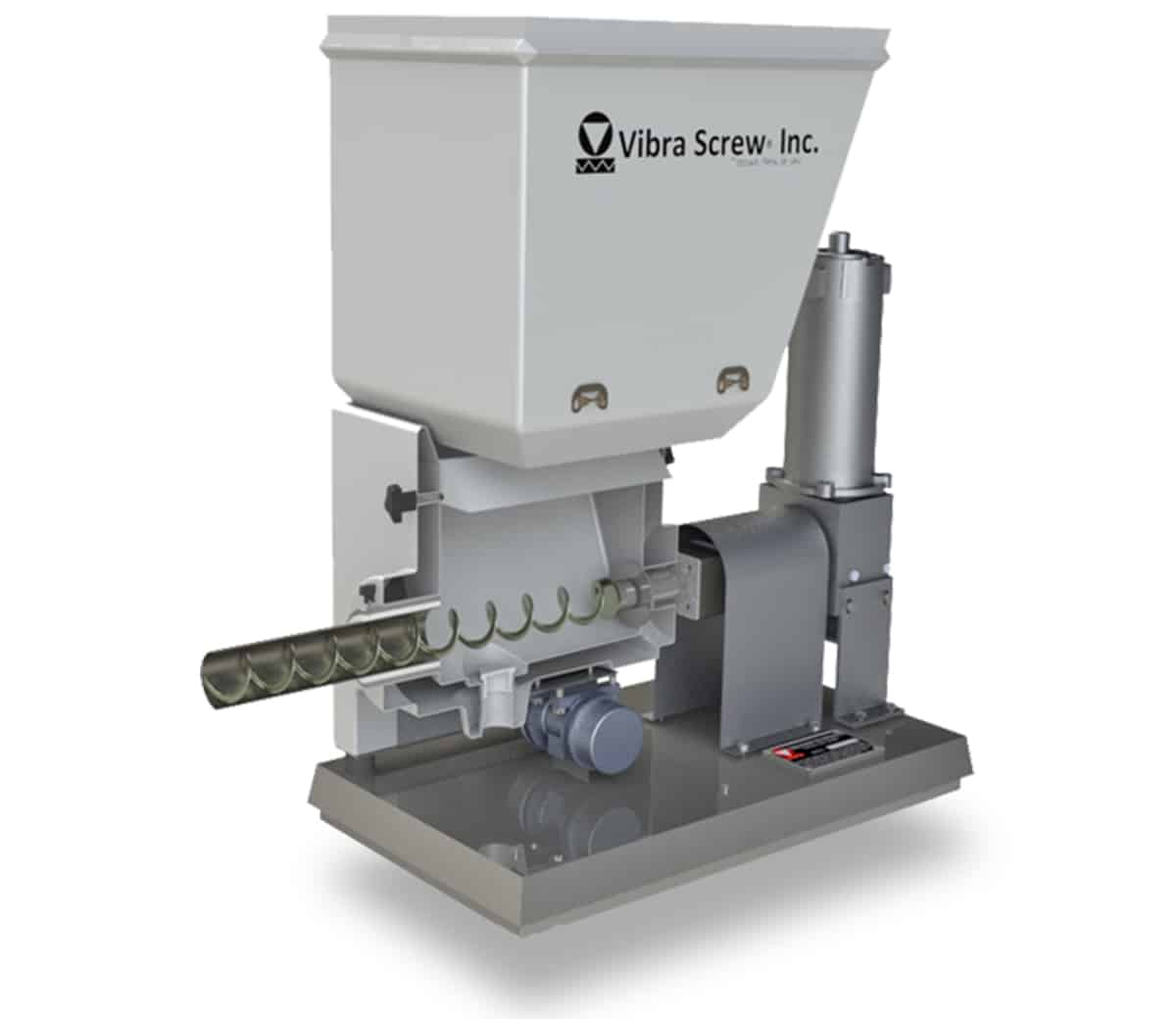 Vibra Screw Sanitary AccuFeed™ Composite Feeder Features Loss-in-Weight Accuracy