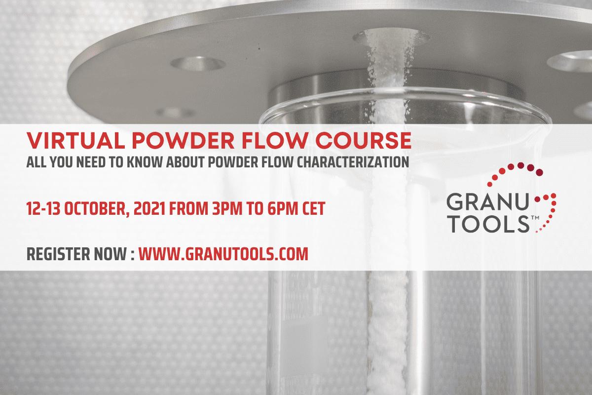 Virtual Powder Flow Course 2021