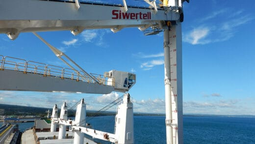 Siwertell Ship Unloaders Specified for new Chinese Power Station