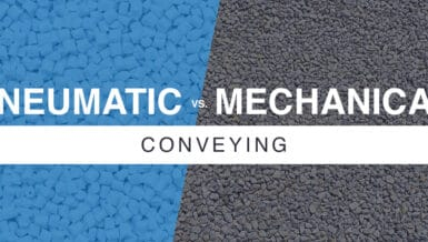 Pneumatic Conveying vs. Mechanical Conveying